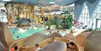 Swimming with Dinos
