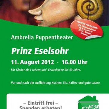 Puppet theatre at Christuskirche