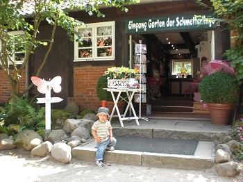 Butterfly garden Friedrichsruh