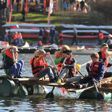 Globeboot: Zelte und Kajaks ausprobieren im Stadtpark