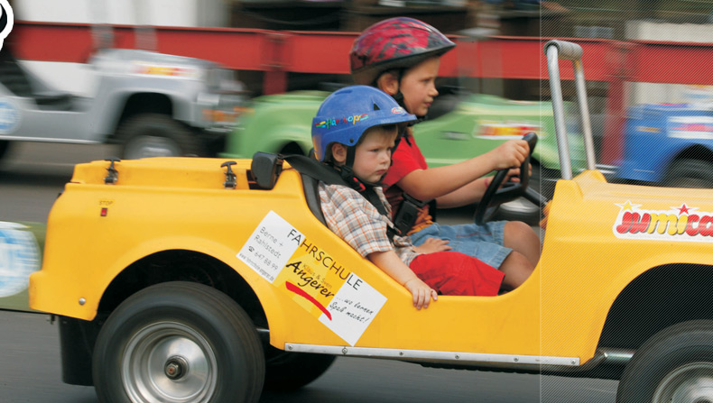 Jumicar – car driving for children