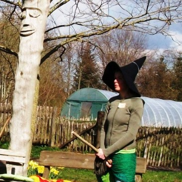 Learn witch craft at herbal park Stolpe