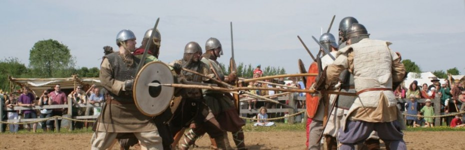 Medieval battle at Trappenkamp Event Forest