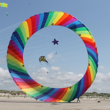 Kite festival at St. Peter-Ording