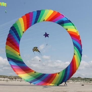 Kite festival at St. Peter-Ording