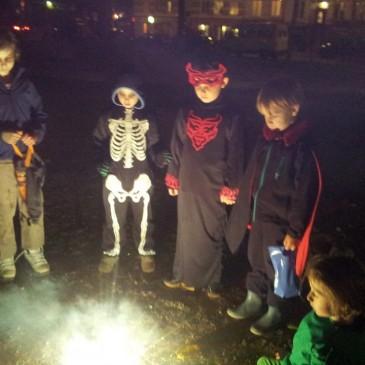 Halloween in Hamburg