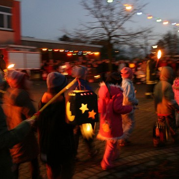 Lantern trailing with the fire brigade museum