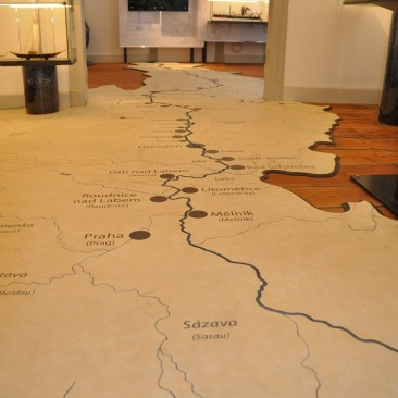 Elbschifffahrtsmuseum_Karte der Elbe©Christin Kiepke
