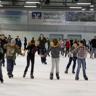 Ice sakting like the pros: Volksbank Arena