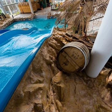 Slide adventure at Arriba adventure pool
