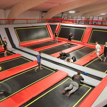 Day trip, children's birthday or group visit to the trampoline paradise in Quickborn / Hamburg